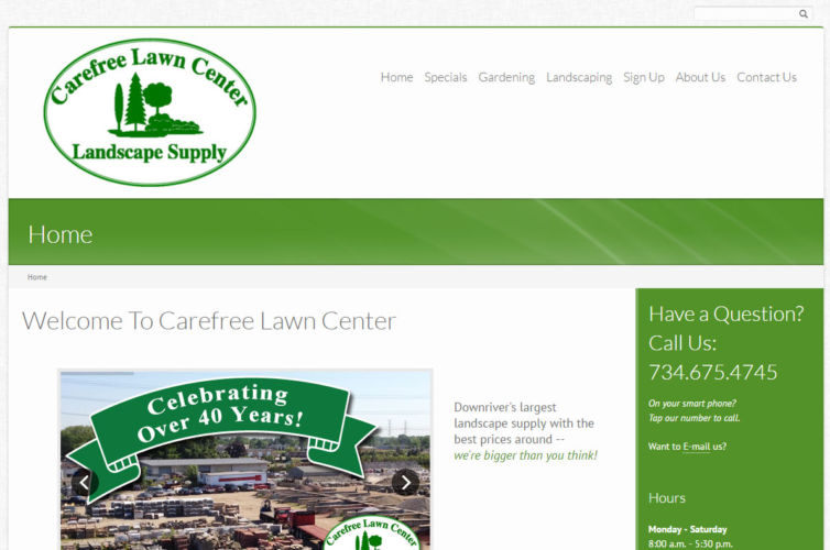 Carefree Lawn Center