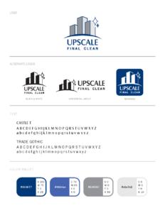Upscale Clean Brand Sheet