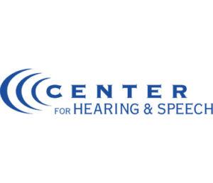 Center For Hearing & Speech Text Logo