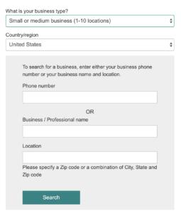 Form Bing Options