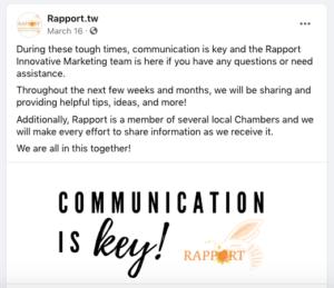 Rapport Innovative Marketing social media