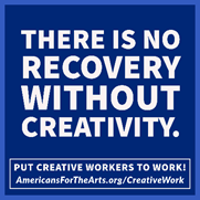 there is no recovery without creativity graphic
